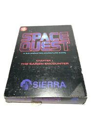 Space Quest The Sarien Encounter Box Set 3.5 1986 Atari St 1st Disk Not Reading