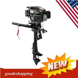 Heavy Duty Outboard Motor 4 Stroke 6 Hp Boat Engine With Air Cooling System