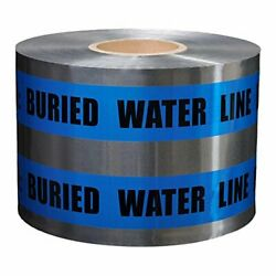 Presco Underground Detectable Warning Tape 5 Mil Thick 6 In. X 1000 Ft. Blue ...
