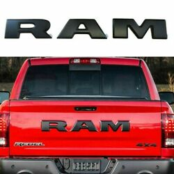 fits Ram Tailgate Letters Black For Dodge Ram 1500 years 2015 2016set 3 letters $40.99
