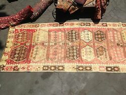 Anthropologie Moroccan Antique Wool Carpet Berber 13andrsquo X 5andrsquo Taznakht Tribe Runner