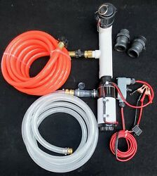Marine Black Water Holding Tank Pump Out/flush System For Diy Into Home Sewer