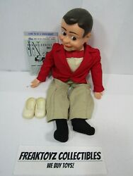 Jerry Mahoney Ventriloquist Doll W/ Jimmy Nelson Instant Ventriloquism Pamphlet