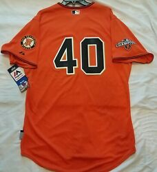 Authentic Majestic 52 2xl San Francisco Giants Madison Bumgarner Coolbase Jersey