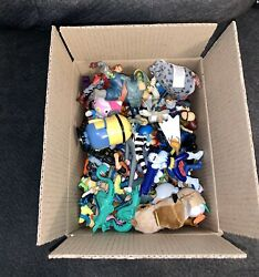 Vintage Random Mixed Lot Of 50+ Pvc And Figures Toys Characters - Some Vintage