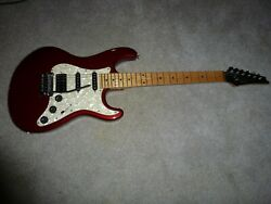 Hammer Body With A Ibanez Neck New Paint Old Neck .a Heavy Hitter Elec Guitar