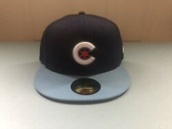 Chicago Cubs New Era 5950 Fitted City Connect Cap Hat Size 7 1/2 Brand New