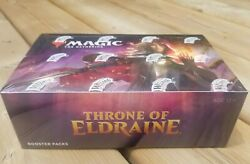 Mtg Throne Of Eldraine - Sealed Booster Box - Ships Free In Canada