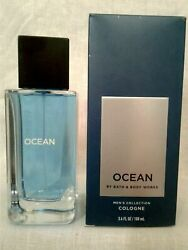 Bath And Body Works Menand039s Collection Ocean For Men Cologne Spray 3.4 Oz