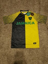 New Orro Official Football Soccer Jamaica Federation Men's Jersey Size Small