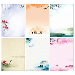Stationary Set Japanese Stationery Letter Writing Paper, 48 Pack Stationary And