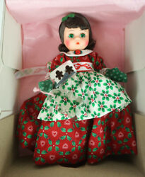 Madame Alexander Doll 8 Lil Christmas Cookie 341 With Cookie Cutter Nib