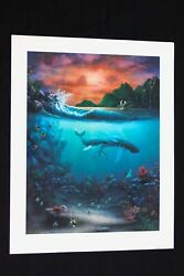 27 X 35 Destiny By David Miller Limited Edition Hand Signed Print Code Dcd27x35