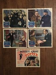 Topper - Original 1937 Lobby Cards - Cary Grant - Young - Bennett