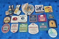 Beer Coasters Placemats Collection Many Types, Shapes And Sizes X168 Total