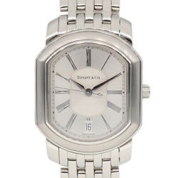 Tiffanyandco. Watches Silver Stainless Steel Mark Coupe From Japan Used