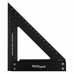 Professional Carpenter Square Layout Tools Framing Woodworking Rafter 8 Inch