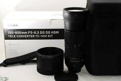 Sigma 150-600mm F5-6.3 Dg Contemporary For Nikon Use Miracles Almost With