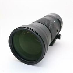 Secondhand Sigma 150-600mm F5-6.3 Dg Os Hsm For Nikon Lens Interchangeable