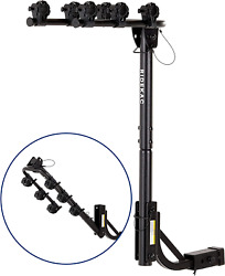 Kac S3 1.25 And 2 Hitch Receiver 3-bike Capacity Hanging Bicycle Carrier - Hit