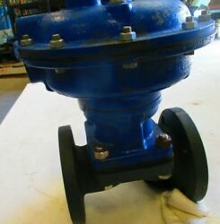 Air Actuated Diaphragm Valve Century Inst 2 Flanged Fully Rubber Lined Di Body