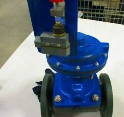 Air Actuated Diaphragm Valve Century 3 Flanged Rubber Lined Di Body