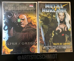 The Metabarons Alpha / Omega And Metal Hurlant 134 2002 Charest And Jodorowsky Nm