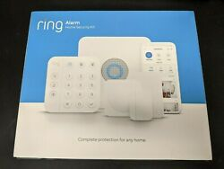 Brand New Ring Alarm 2nd Generation Home Security System 5-piece Kit - White