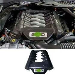 For Ford Mustang 15-17 5.0t Carbon Fiber Engine Hood Radiating Protection Cover