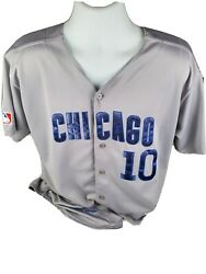 Vintage 80's Rare Mlb Mitchell And Ness Chicago Cubs Ron Santo Jersey Sewn Size 48