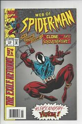 Web Of Spider-man 118 Vf+ 9.0 1st App Of B Reilly As Scarlet Spider Newstand