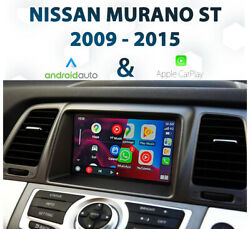 [my09-14] Nissan Murano St - Apple Carplay And Android Auto Integration