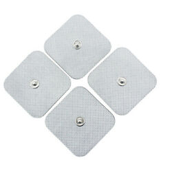 Fire Sell 40x Snap On Replace Electrode Pads For Tens Unit Self Adhesive Stud