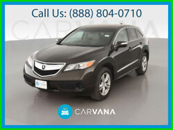 2014 Acura Rdx Sport Utility 4d Cd/mp3 Single Disc Heated Seats Side Air Bags Dual Power Seats Moon Roof Hill