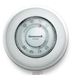 Honeywell-round Non-programmable Thermostat With 1h Single Stage Heating