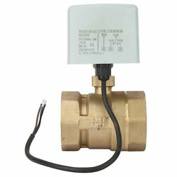 Ac 220v Dn50 2inch 2-way 3-wire Brass Electric Motorized Ball Valve