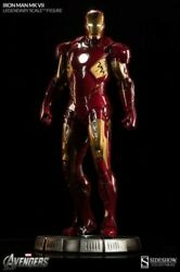 Sideshow Collectible Legendary Scale Iron Man New In Shipper Box