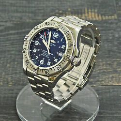 Breitling Super Ocean S. Steel A17360 Automatic Menand039s Wrist Watch 3 Rise-on