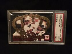 1996 Pacific Crown Royale 39 Terrell Owens Rookie Card Psa 9