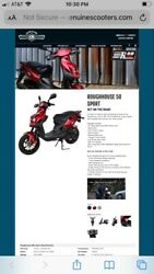Genuine Roughhouse 50 Sport Scooter
