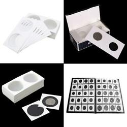 Set Of 50 - Thick Coin Collecting Holder Coin Flips For Starter 31.5mm