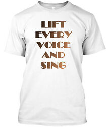 Teespring Lift Every Voice And Sing Classic T Shirt 100% Cotton