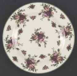 Royal Albert Old Country Roses Cream Salad Plate 1222967