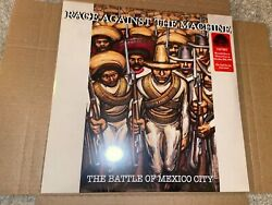 Rage Against The Machine Battle Of Mexico 12 Red And Green Vinyl 2lp Rsd 2021
