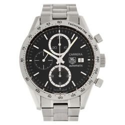 Tag Heuer Carrera Cv2016 Stainless Steel 41mm Auto Watch