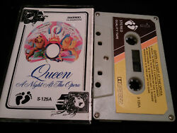 Queen A Night At The Opera 70s Cover And Mc Tape Presumably Malaysia