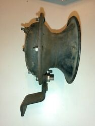 Vintage Willys Army Jeep Truck 6 Volt Auto Lite Co Horn Fender Mount Made In Usa