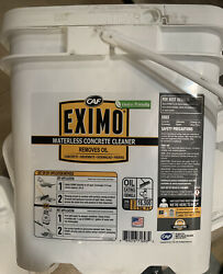 Eximo Waterless Concrete Cleaner For Driveway, Garage Basement And Walkway 36lbs