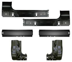 Inner And Outer Rocker Panels And Cab Corners Fits 99-16 Super Duty Regular Cab Kit