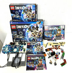 Lego Dimensions Ps4 71171 Starter Pack And 71242 Ghostbusters Mini Figs No Game